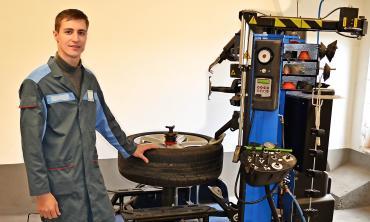 Berührungslose Reifen Montier Maschine für jedes Rad