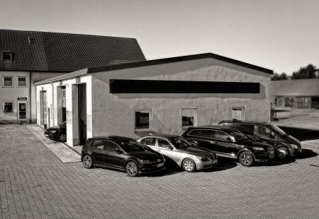 Außenansicht unserer Autowerkstatt in 91732 Merkendorf und Umgebung